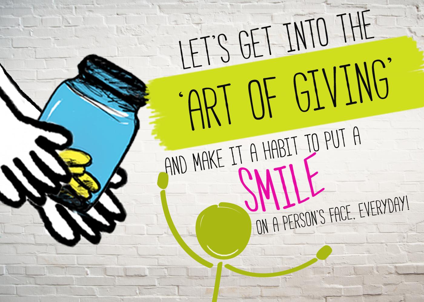 Generosity... A Way of Life - IOU Blog
