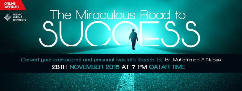 -The Miraculous Road to Success-event cover copy