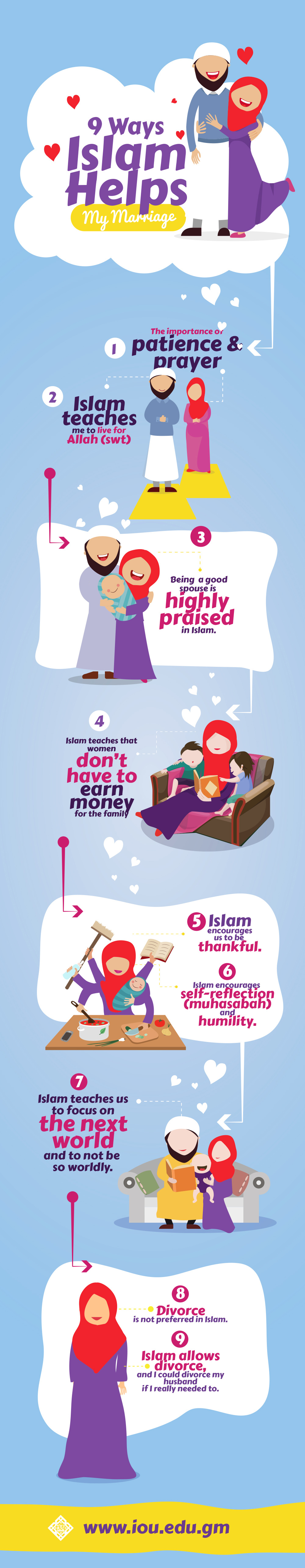 9 Ways Islam Helps My Marriage - IOU Blog